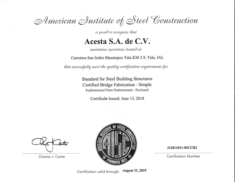 American Institute of Steel Contructor.